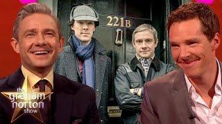 Download Elementary, My Dear Norton | Best of Benedict Cumberbatch & Martin Freeman on The Graham Norton Show Video