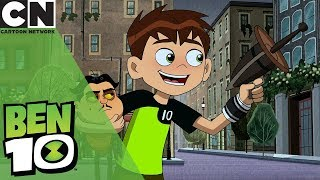Download Ben 10 | Ben Shrinks Outside Big Ben | Cartoon Network UK 🇬🇧 Video