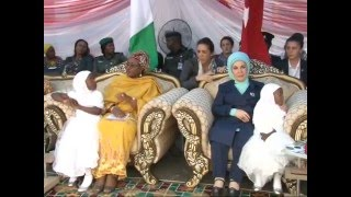 Download Watch Wife of The President Aisha Buhari Hosts First lady of Turkey Video
