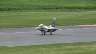 Download BIG F 16 turbine RC JET AIRPLANE 150 MPH SMMAC airfeild 7-5-2010 Video