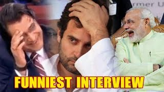 Download Rahul Gandhi's Most FUNNIEST Interview With Arnab Goswami Video