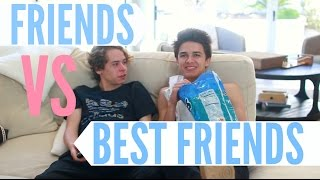 Download Friends Vs Best Friends! | Brent Rivera Video