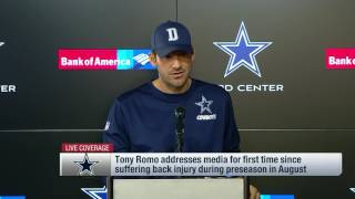 Download Tony Romo on Dak Prescott & 2016 Cowboys (Full Press Conference) | NFL Video