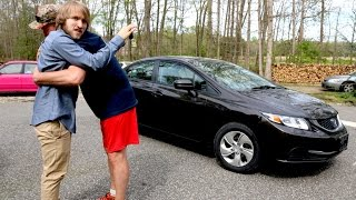 Download PSYCHO DAD BUYS MCJUGGERNUGGETS A NEW CAR! Video
