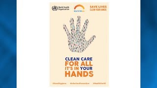 Download Clean care for all - It's in your hands! WHO global hand hygiene campaign day - 5 May 2019 Video