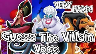Download 👿GUESS THE DISNEY VILLAIN VOICE!👿 VERY HARD! Video