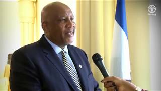 Download Remarks by H.R.M. King Letsie III of the Kingdom of Lesotho, FAO Special Ambassador for Nutrition Video