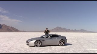 Download I Drove My Aston Martin As Fast As Possible On the Bonneville Salt Flats Video