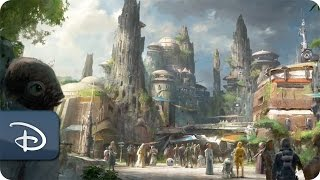 Download Disney Parks Imagineers and Lucasfilm Collaborate on Star Wars-Themed Lands Video