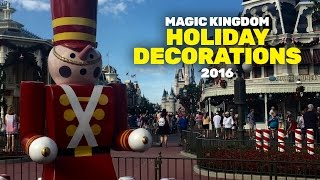 Download Holiday Decorations in the Magic Kingdom 2016 Video