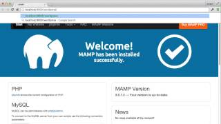 Download How to Install MAMP and WordPress on your computer Video