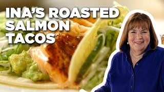 Download How to Make Ina's Roasted Salmon Tacos | Food Network Video