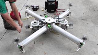 Download IncredibleHLQ - Heavy Lift Quadcopter - EngineTest Video