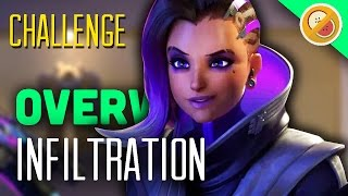 Download Overwatch 3v3 Challenge ″Infiltration″ - Gameplay (Funny Moments) Video