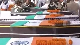 Download Sukma Naxal Attack: Rajnath Singh and Raman Singh pay tribute to the CRPF martyrs Video
