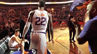Download I SAT ON THE PHOENIX SUNS BENCH FOR A GAME!! *VIP BACKSTAGE FOOTAGE* Video