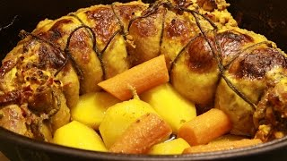 Download Rolovano pile recept-Rolled Chicken Recipe Video