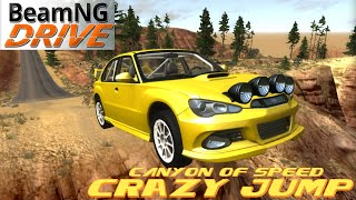 Download BeamNG DRIVE crazy jump Map Canyon of speed Video