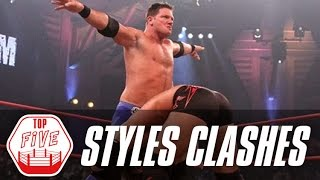 Download AJ Styles' Top 5 Styles Clashes in TNA | Fight Network Flashback Video