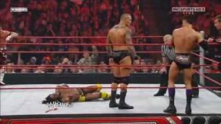 Download Randy Orton & Legacy vs. Kofi Kingston, Evan Bourne & Yoshi Tatsu 2/2 - 2/22/10 Video