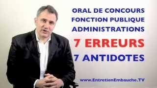 Download Coach pour oral de concours administratifs, fonction publique : les 7 erreurs à éviter Video