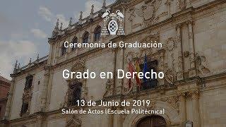 Download Graduación del Grado en Derecho · 13/06/2019 Video