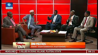 Download Imo Governorship Race And Endorsement Controversies Pt.3  Sunrise Daily  Video