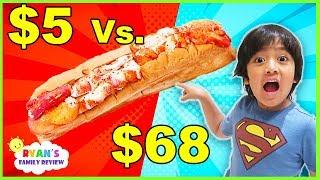 Download $5 Sandwich Vs. $68 Sandwich!!! Worth it?????? Video