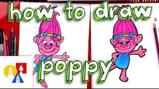 Download How To Draw Poppy From Trolls Video