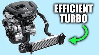 Download Mazda's Secret To Efficient Turbo Engines Video