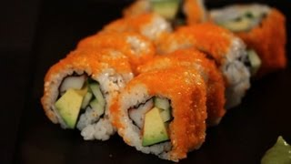 Download How to Make a California Roll | Sushi Lessons Video