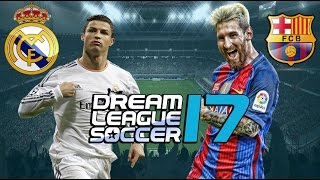 Download REAL MADRID x BARCELONA - DREAM LEAGUE SOCCER 17 OFICIAL Video
