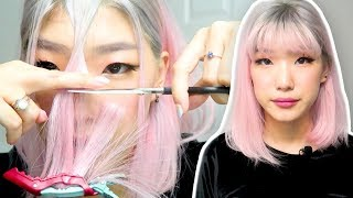 Download CUTTING MY BANGS (i look like taylor swift omg) Video