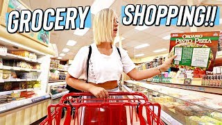 Download GROCERY SHOPPING W/ ALISHA!! Video