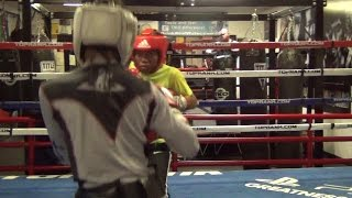 Download SPAR WARS!! THE BEST SPARRING!! ROBERT MAYWEATHER VS KAIPO GALEGOS (NATIONAL CHAMPIONS) Video