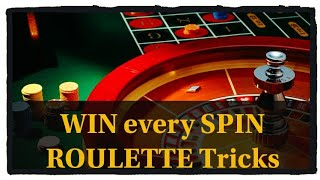 Download WIN every SPIN ... ROULETTE WINNING TRICKS Video