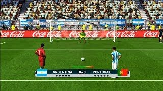 Download ARGENTINA vs PORTUGAL | Penalty Shootout | PES 2017 Gameplay Video