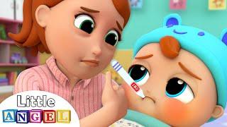 Download Baby is Sick | Twinkle Twinkle Little Star Song | Little Angel Kids Songs & Nursery Rhymes Video