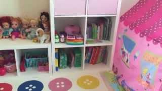 Download kids playroom tour / toys organization / ikea furniture Video