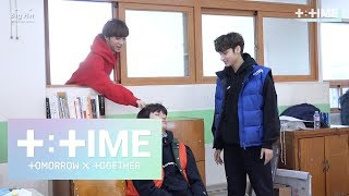 Download [T:TIME] Cute trick on sleeping boy! - TXT (투모로우바이투게더) Video