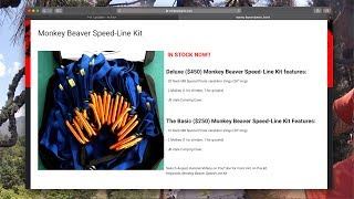 Download Using the MONKEY BEAVER SPEED-LINE KIT (how Jeff feels) Video