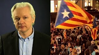 Download As Catalonia Plans Independence from Spain, Julian Assange Advises Organizers on Secure Messaging Video