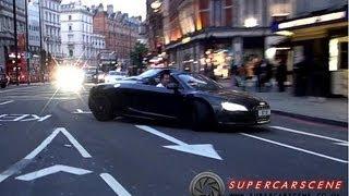 Download Audi R8 V10 Spyder POWERSLIDE + Supercars Racing!! Video
