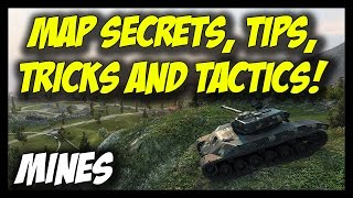Download ► World of Tanks: Map Secrets, Tips, Tricks and Tactics - MINES Video