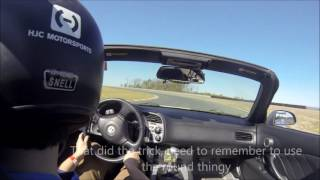 Download Why you shouldn't drift at a Track day Video