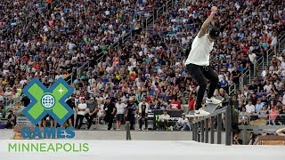 Download FULL BROADCAST: Monster Energy Men's Skateboard Street Final | X Games Minneapolis 2017 Video