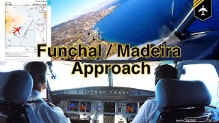 Download FUNCHAL-Madeira Approach, LIVE ATC, Checklists, MovMap, 4K Video