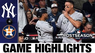 Download Gleyber Torres' HUGE game leads Yankees to win | Yankees-Astros MLB Highlights Video