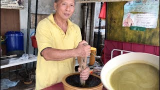 Download The Most Authentic Hakka ″LuiCha″ Thunder Soup Found In KL (祖傳河婆擂茶香飯传统做法 ) Video
