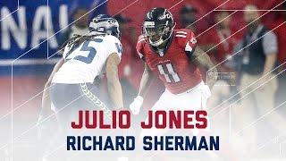 Download Julio Jones vs. Richard Sherman | Seahawks vs. Falcons | NFL Divisional Player Highlights Video